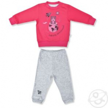 Купить пижама джемпер/брюки leo приключение, цвет: розовый ( id 12614824 )