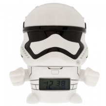 Купить часы star wars будильник bulbbotz минифигура stormtrooper 14 см 2021371
