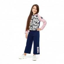 Купить брюки lucky child скажи да, цвет: синий ( id 12673288 )