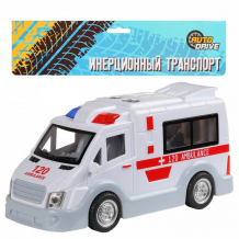 Купить autodrive фургон скорой помощи инерционный jb0402809