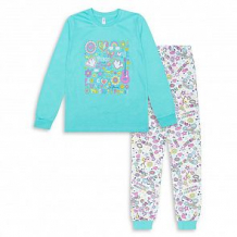 Купить пижама джемпер/брюки takro, цвет: бирюзовый ( id 12675502 )