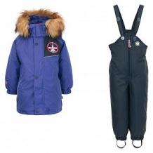 Купить комплект куртка/комбинезон лайки 1069303, цвет: синий ( id 7463983 )