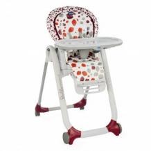Купить стульчик высокий chicco polly progresscherry, цвет: красный chicco 996913593