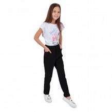 Купить брюки спортивные fun time, цвет: черный ( id 11137064 )
