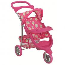 """Купить коляска для кукол buggy boom """"nadin"""" трансформер, розовая 8881165"""