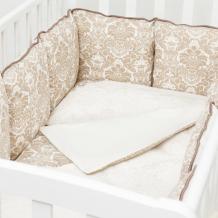 Купить комплект в кроватку colibri&lilly damask (6 предметов)