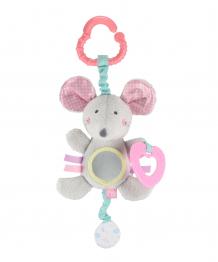 """Купить подвесная игрушка mothercare """"мышка"""", розовый mothercare 4299828"""