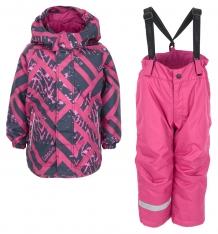 Купить комплект куртка/брюки lassie, цвет: фиолетовый 723713-5991-092