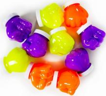 Купить развивающая игрушка слайм стекло набор слаймов в боксе неоновое свечение box-neon