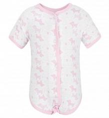 Купить боди чудесные одежки розовые собачки, цвет: белый/розовый ( id 5793643 )