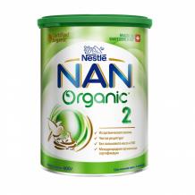 Купить nan 2 органик сухая молочная смесь 400 г 12356060
