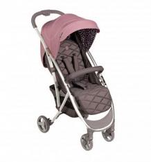 Купить прогулочная коляска happy baby eleganza v2, цвет: розовый ( id 8074795 )