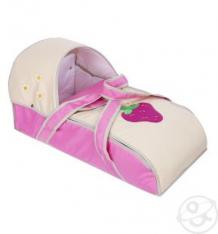 Купить люлька-переноска для ребенка slaro ягодка, цвет: розовый/светло-бежевый ( id 4526155 )