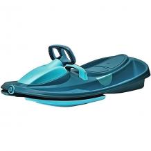 Купить cанки-снегокат gizmo riders stratos, c рулем и тормозом, голубые ( id 13491771 )