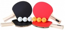 Купить ping-pong набор ракеток и мячей для 4-х игроков performance t1354