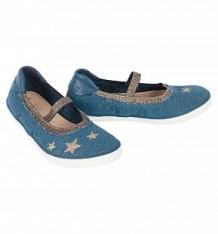 Купить туфли geox, цвет: голубой ( id 8281363 )