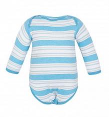 Боди Чудесные одежки, цвет: белый/голубой ( ID 4883377 )