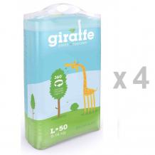 Купить lovular подгузники-трусики giraffe l 50 шт. (9-14 кг)