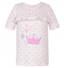 Купить футболка mamatti princes, цвет: розовый ( id 5079271 )