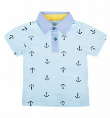 Купить футболка-поло fun time, цвет: голубой ( id 10381445 )