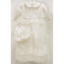 Купить платье крестильное и капор choupette ваниль choupette 993847372