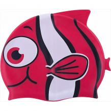 """Купить шапочка для плавания силиконовая """"рыбка"""", красная, dobest ( id 5574459 )"""