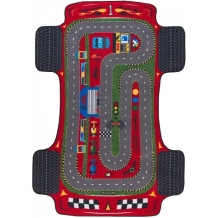Купить confetti kids коврик rugs racer anti-slip 10 мм 133х190 см