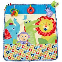 Купить мягкое одеяло fisher-price «пойдем на прогулку» 5587630