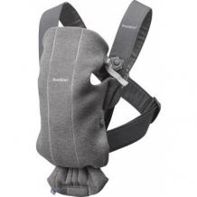 Рюкзак-переноска Baby Bjorn Mini 3D Jersey, темно-серый BabyBjorn 997006072