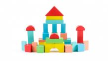 Купить деревянная игрушка томик конструктор краски дня утро 105 деталей 6674-11