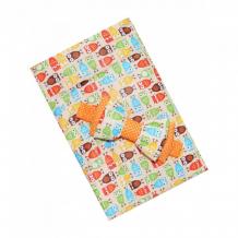 Купить lovelycare конверт-одеяло на выписку совы весна/осень + бант 100766
