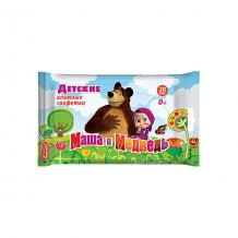 Купить влажные салфетки авангард маша и медведь №20 ( id 5489917 )