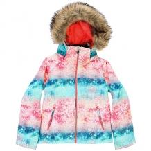 Купить куртка утепленная детская roxy jet ski girl g snjt neon grapefruit_sola мультиколор ( id 1185116 )