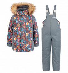 Купить комплект куртка/полукомбинезон arctic kids, цвет: серый ( id 6453901 )