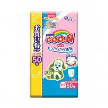 Купить goon подгузники-трусики xl (12-20 кг) для девочки 50 шт. 853159/853510