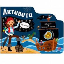 Купить книга с наклейками мозаика-синтез «пираты» 4+ ( id 11245568 )
