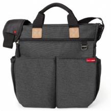 Купить сумка для мамы на коляску soft slate skip hop duo signature, soft slate, серый skip hop 997073265