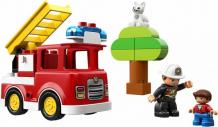Купить конструктор lego duplo 10901 town пожарная машина (21 деталь) 10901