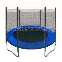Купить кмс батут с защитной сеткой trampoline 14 диаметр 4.3 м