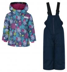 Купить комплект куртка/полукомбинезон salve by gusti, цвет: голубой/розовый ( id 9820383 )