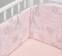Купить бортик в кроватку colibri&lilly paris 120х60 см
