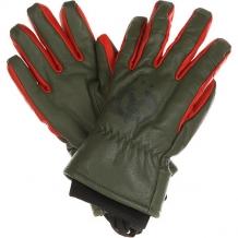Купить перчатки сноубордические neff kazu work glove olive черный,зеленый,красный 1177209