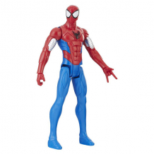 Купить hasbro spider-man e2324/e2343 фигурка человека паука pow.pack в механизированной броне 30 см