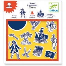 Купить набор штампов пираты, djeco ( id 7414667 )