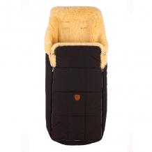 Купить детский меховой конверт christ arosa, цвет: темно- коричневый christ 996864611