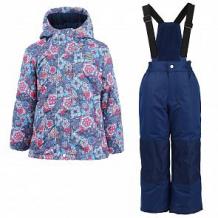 Купить комплект куртка/полукомбинезон salve, цвет: голубой/синий ( id 10675967 )