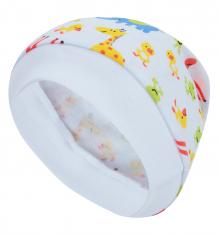 Купить шапка бамбук узелок, цвет: белый ( id 10427555 )