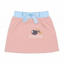 Купить юбка lucky child осенний лес, цвет: розовый ( id 11440486 )