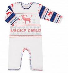 Комбинезон Lucky Child, цвет: белый ( ID 428603 )