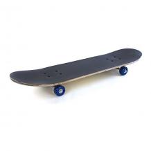 Купить скейтборд наша игрушка skull, черный 11063333